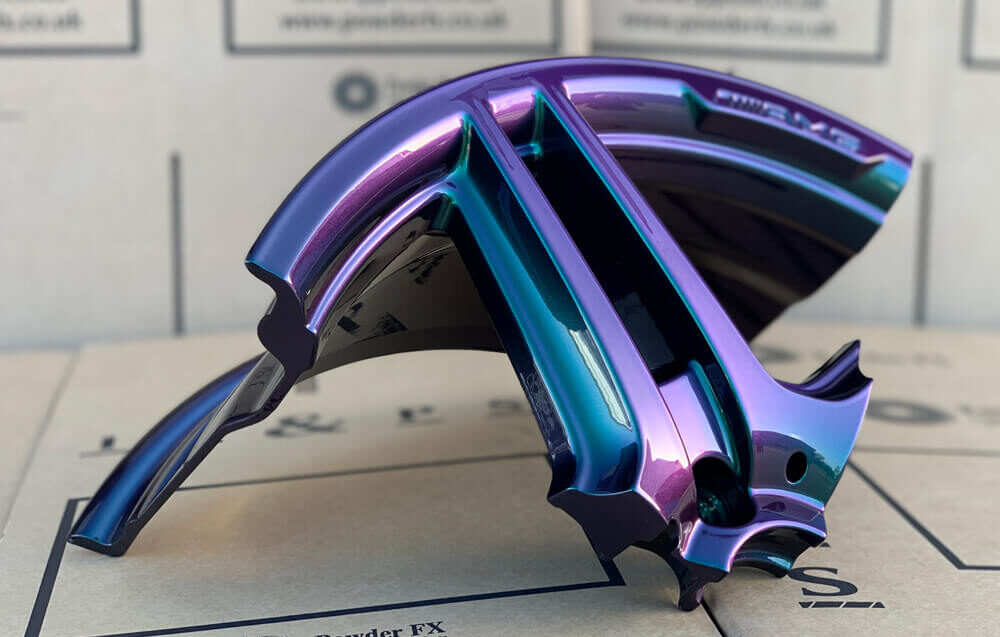 Colour paint wheel